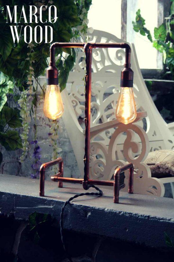 Дизайнерский светильник ручной работы