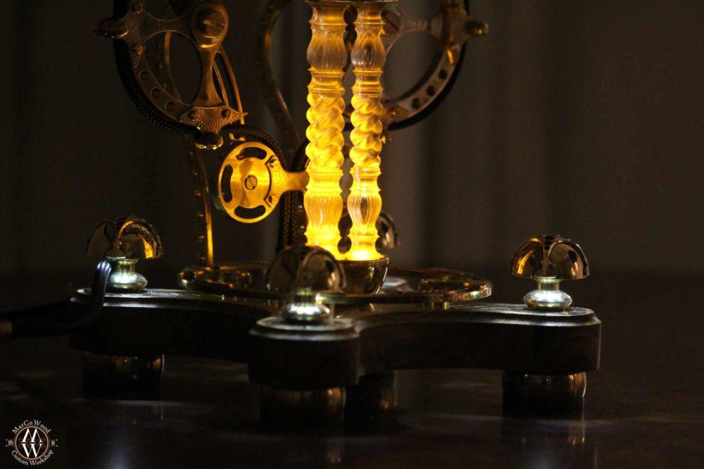 Steampunk lamp 9 3/4