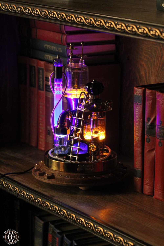 Steampunk lamp Benjamin