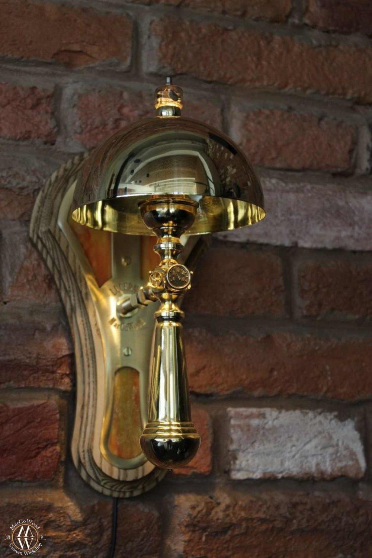 Steampunk wall lamp Lucerna